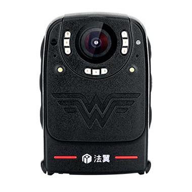 法翼T3执法记录仪执勤工作记录仪过硬品质轻巧佩戴数据安全气囊红外夜视3200像素 黑色