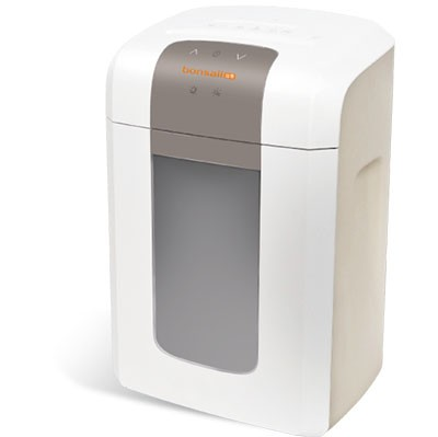 盆景4S16碎纸机办公 高保密静音连续电动家用碎纸机