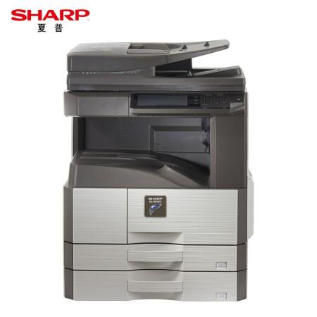 夏普(SHARP)MX-M3158NV A3黑白复印机(含双面输稿器+双纸盒+工作台)