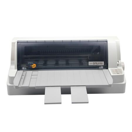 富士通(Fujitsu)DPK890T 针式打印机106列平推式适用3mm厚度证件打印
