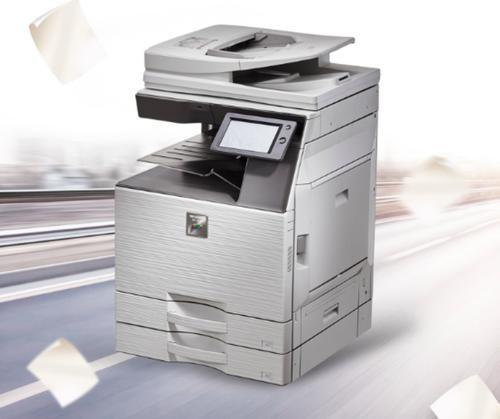 夏普/SHARP MX-C3121R 彩色激光复印机 (主机+双面器+输稿器+双纸盒+工作台)