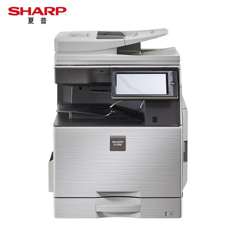 夏普AR-2348SV 黑白复印机(盖板主机+单纸盒+工作台)